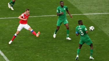 Denis Cheryshev goal Russia vs. Saudi Arabia World Cup