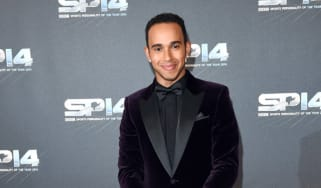 Lewis Hamilton at the BBC Sports Personality of the Year awards