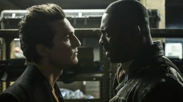 Matthew McConaughey and Idris Elba in Stephen King's The Dark Tower