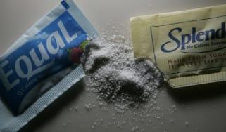 Equal and Splenda artificial sweeteners