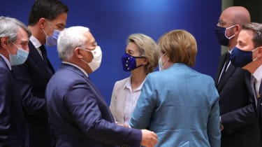 EU leaders meet for the final European Summit of the year in Brussels.