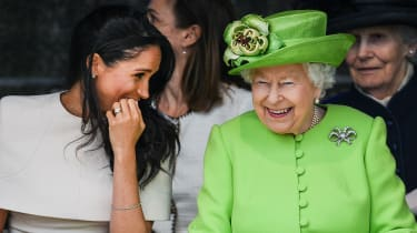 Queen and Meghan Markle