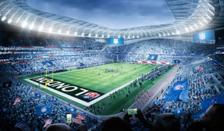 Tottenham's new stadium will also be used for NFL London matches