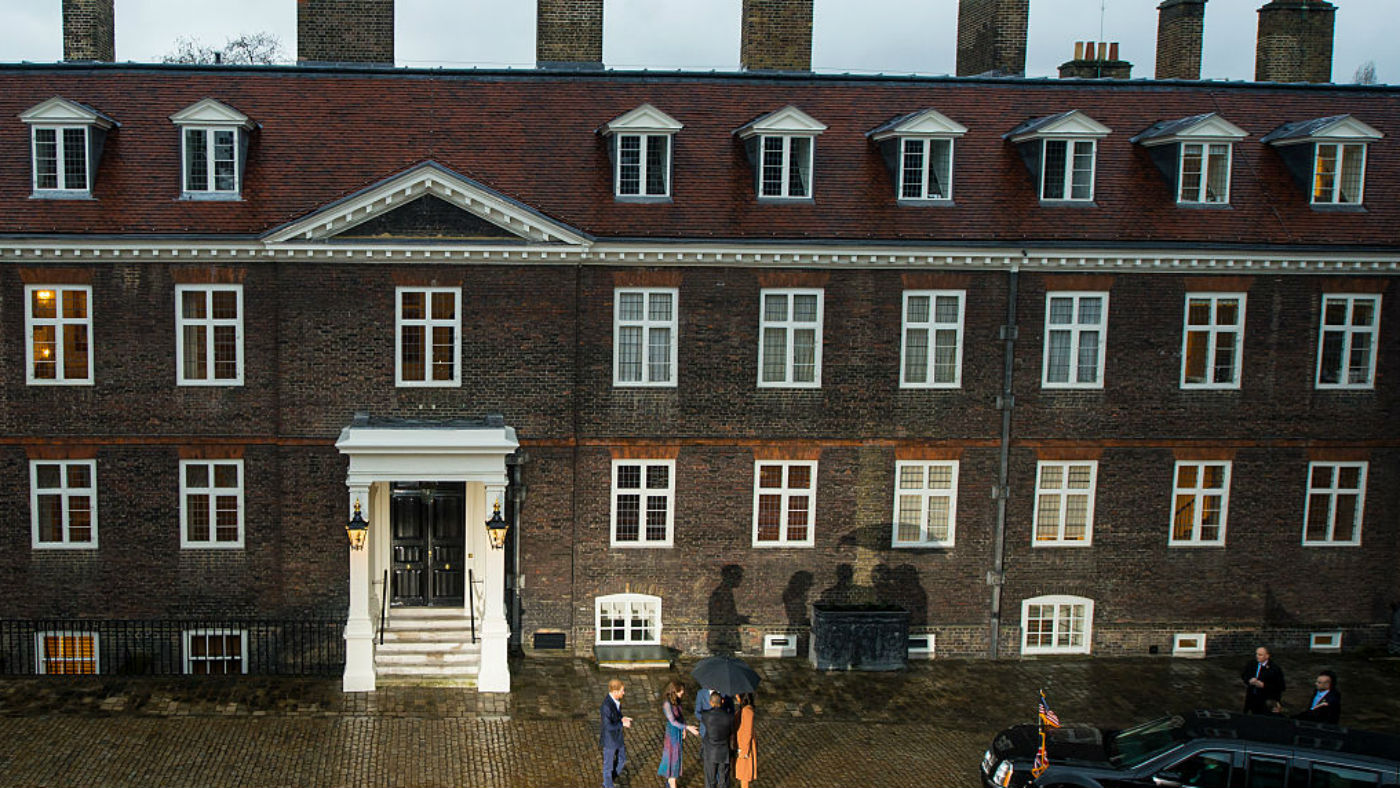 Inside Kensington Palace William And Kate S London Family Home The Week Uk