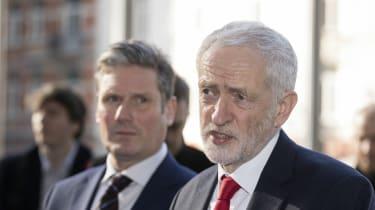 Keir Starmer, Jeremy Corbyn