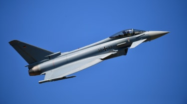 Ultra's technologies are used in the Eurofighter