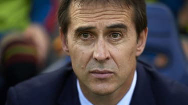 Julen Lopetegui Spain Real Madrid 2018 World Cup