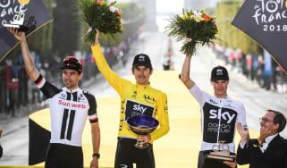 Geraint Thomas Tour de France trophy stolen Team Sky