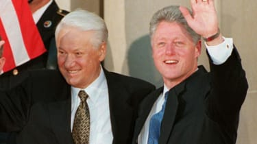 Boris Yeltsin Bill Clinton