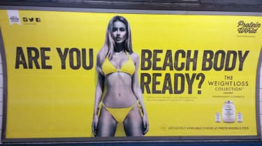 Beach body, advertising