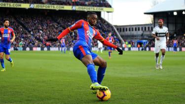 Crystal Palace defender Aaron Wan-Bissaka is an England Under-21 international