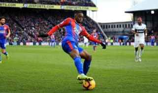 Crystal Palace defender Aaron Wan-Bissaka is an England Under-21 international