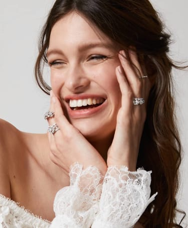 Annoushka stackable wedding rings