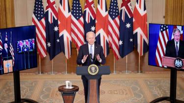 Joe Biden announces Aukus pact