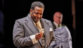 Wendell Pierce in Death of a Salesman at the Young Vic