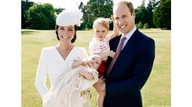 Kate Middleton, Prince William, Prince George and Princess Charlotte