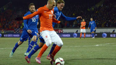 Netherlands and Iceland in Euro 2016