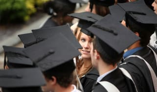 British graduates at degree ceremonies