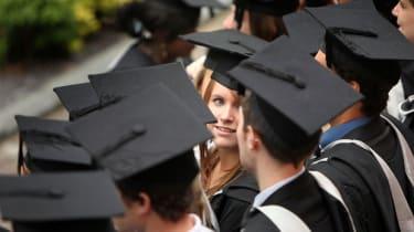 British graduates at degree ceremonies