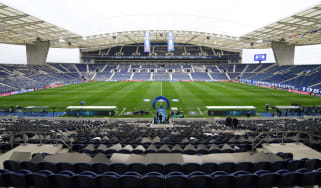Estadio do Dragao in Porto, Portugal