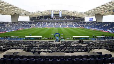 Estadio do Dragao in Porto, Portugal
