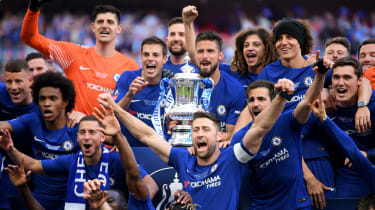 FA Cup final Chelsea 1 Man Utd 0 Eden Hazard Antonio Conte