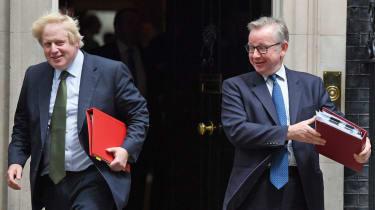 Boris Johnson and Michael Gove