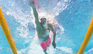 Sun Yang competes in the 200m freestyle semi-final at the Fina World Championships in 2015