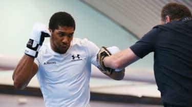 Anthony Joshua vs. Alexander Povetkin boxing