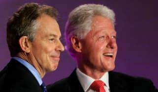 Tony Blair Bill Clinton