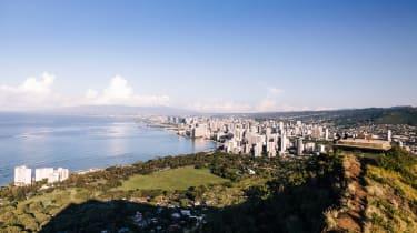 A short, sharp hike up the Diamond Head trail earns panoramic views of Honolulu