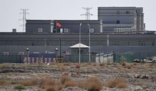 Uighur re-education camp