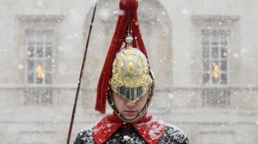 Household Cavalry guardsman
