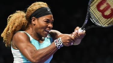 Serena Williams at Women's Tennis Association finals