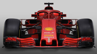 Ferrari SF71H F1 car launch 2018