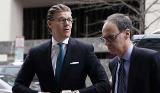 Alex van der Zwaan appears for sentencing over lying to Mueller investigation