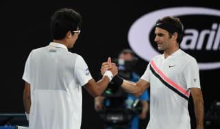 Roger Federer v Marin Cilic Australian Open final