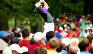 Rory McIlroy at the PGA Championship