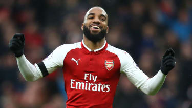 Alexandre Lacazette signed for Arsenal from Lyon in a £46.5m deal in July 2017