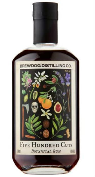 Five Hundred Cuts Botanical Rum from BrewDog Distilling Co.