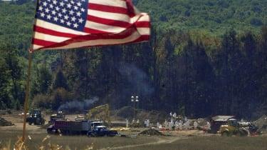 Flight 93 Wreckage