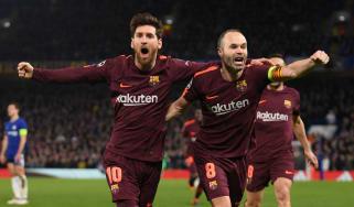 Lionel Messi Barcelona Chelsea Champions League