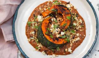 Kricket's Delica pumpkin with Mahkani sauce