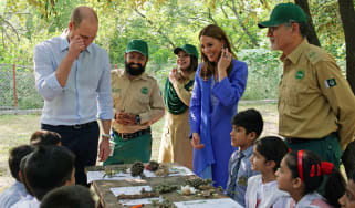 William Kate pakistan