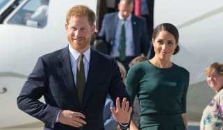 Duke and Duchess of Sussex arrive in Dublin