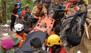 Indonesia mine collapse