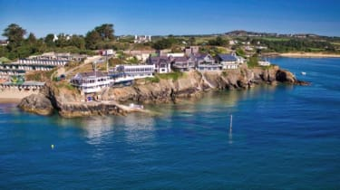 The Brink beach house at Benar Headland in Abersoch, Wales, has an asking price of more than £3m