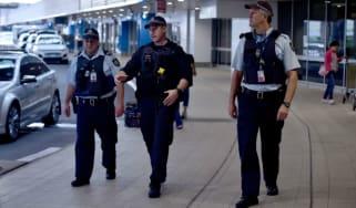 sydney airport police