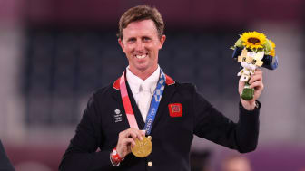 Ben Maher won gold in the individual show jumping
