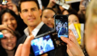Tom Cruise Mission Impossible Ghost Protocol premiere Dubai